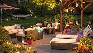 the perfect patio lighting ideas