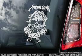 Heavy Metal Band Rock Pop Decal Sign Motley Crue V01 Car Window Sticker Entertainment Memorabilia Rock Pop