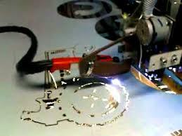 cnc plasma cutting with diy machine