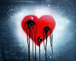خلفيات قلوب حزينه