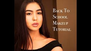 back to makeup tutorial for high