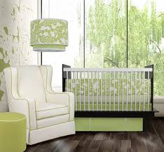 simple green baby bedding sets