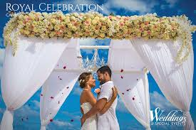 royal resorts wedding