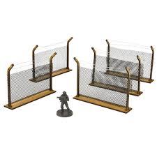 Chain Link Fences Scenery Set The Walking Dead Wargames