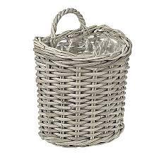 rattan basket wall planters whole