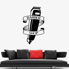 Fun Barber Shop Shaver Vinyl Window Sticker Wall Art Decal Barbers Hair Cut Wall Stickers Home Decor Modern Home Decoration Cool Wall Decals Cool Wall Stickers From Joystickers 10 76 Dhgate Com