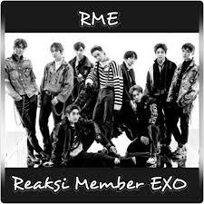 reaksi member exo rme home facebook