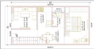 15 feet by 30 feet beautiful home plan