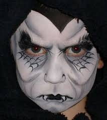 extreme halloween makeup from glow in