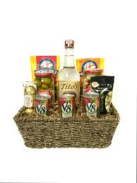 mary gift basket chagne