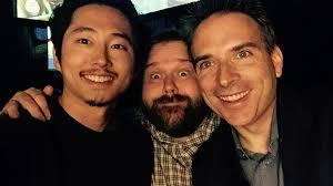 Robert Kirkman and Steven Yeun on 'The Walking Dead' | The Spin-off