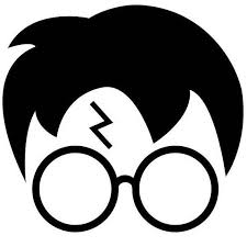 Pin De Elvira A Trevino Em Vinyl Decals Harry Potter Rosto Silhueta Do Harry Potter Harry Potter Diy