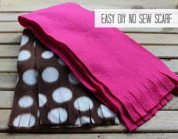 easy diy no sew scarf practical