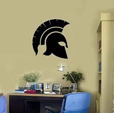 Amazon Com Spartan Helmet Vinyl Wall Decal Ancient Greek Warrior Boy Room Stickers Mural And Stick Wall Decals Home Kitchen