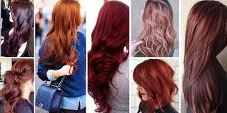 most por red hair color shades matrix