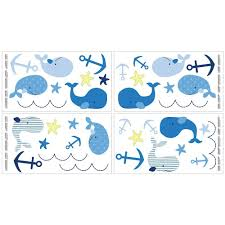 Amazon Com Nautica Kids Brody Nursery Bedding Collection 4 Piece Comforter Set Crib Bedding Sets Baby Wall Decals Whale Wall Decals Kids