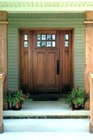 double entry doors with sidelites