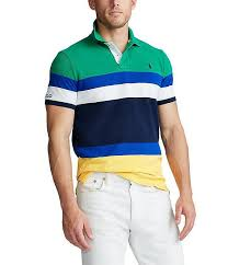 polo ralph lauren chroma green stripe