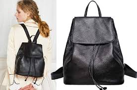 leather backpack purses for women