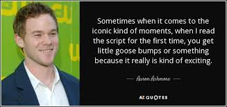 TOP 6 QUOTES BY AARON ASHMORE | A-Z Quotes