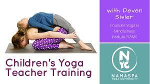 yoga teacher with deven sisler