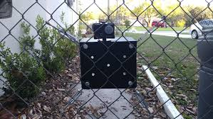 My Version Of The Gopro Fence Mount Gopro Fence Softball