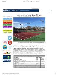 Ida Stone Jones Community Tennis Center Wins National Award | News - News |  | Mountain Empire Tennis Association