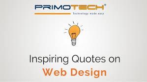 inspiring quotes on web design