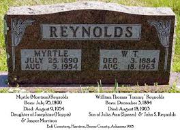 Wiiliam T. & Myrtle Reynolds