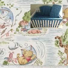 pooh crib bedding boy girl nursery rail