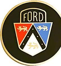 Amazon Com Old 1950 S Ford Emblem Printed 5 Inch Sticker Decal Die Cut Sticker Graphic Car Sticker Laptop Sticker Kitchen Dining