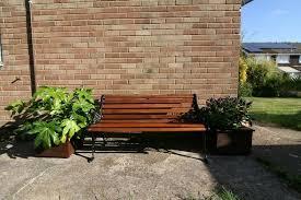 victorian style 3 seat cast iron garden