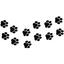 13cm 6 6cm Animal Cat Paw Prints Funny Vinyl Decal Car Sticker Wish