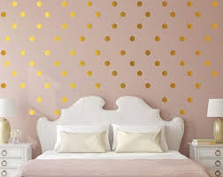 Rose Gold Dots Etsy
