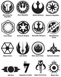 Star Wars Symbols Phone Window Decal Bumper Sticker 3 Sizes Sith Jedi Starwars Ebay