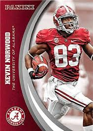Kevin Norwood football card (Alabama Crimson Tide) 2015 Panini Team  Collection #47 at Amazon's Sports Collectibles Store
