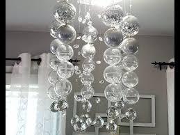 bubble chandelier diy you