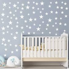 Multi Size Stars Pattern Diy Wall Stickers Wall Decal Removable Vinyl Stars Sticker Baby Kids Bedroom Home Decor Walmart Com Walmart Com