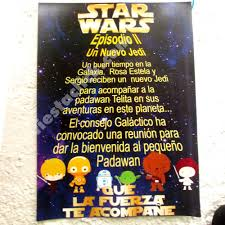 Star Wars Baby Shower Todo Para La Fiesta