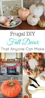 Frugal Fall Decor Ideas Retro Housewife Goes Green