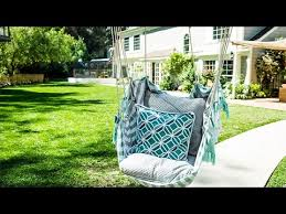 diy diy hanging chair home family