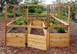 Olt Walk In 8 X12 Raised Bed Garden Homegrown Harvest