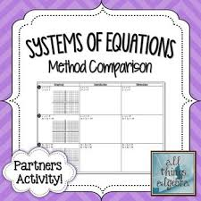 systems of equations all methods