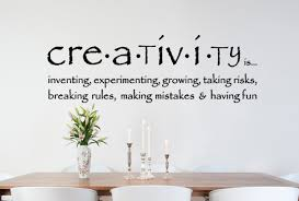 Creativity Wall Decal Trading Phrases