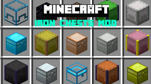Minecraft IRON CHEST MOD