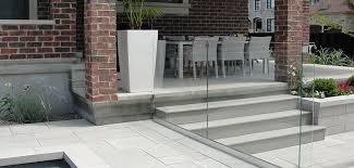 outdoor living glass railing fence