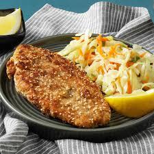 Sesame Dill Fish Recipe