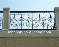 Wrought Iron Balcony Grilles Design Buy Wrought Iron Balcony Grilles Design Steel Balcony Fence Designs Metal Post Bracket Balcony Railing Product On Alibaba Com
