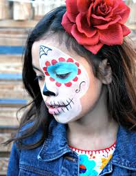 video sugar skull makeup for kids