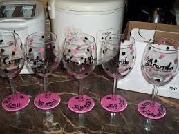 diy ideas how to decorate wine glass